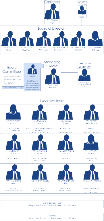 Organizational Structure of STO