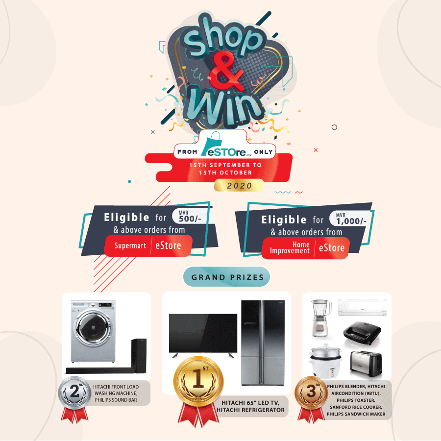 Shop from estore promotion